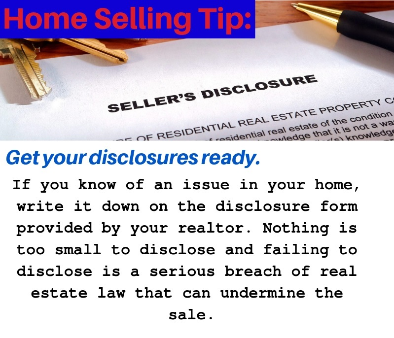 Get Your Seller's Disclosure Ready