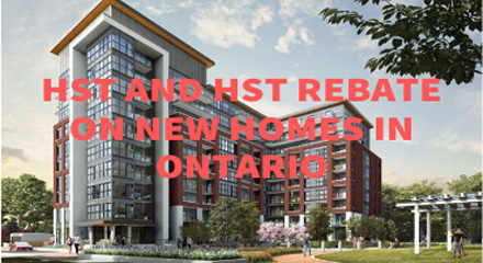 What is HST and HST Rebate on New Homes in Ontario?(Part 2)